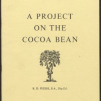 A project on the cocoa bean