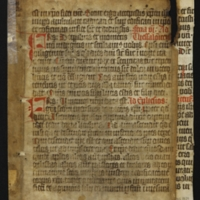 Fragment no. 29 - Bischoff Manuscript Collection