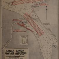 Sanga Sanga: seaplane anchorage