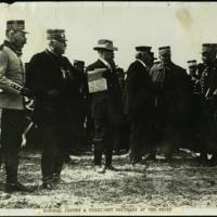 General Joffre & President Poincaré at the front