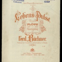 Lebens-Pulse : für Flöte mit Klavierbegleitung : Op. 56