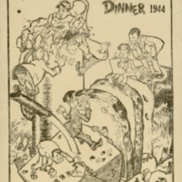 Bread and Cheese Club dinner, 9th December 1944