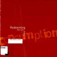 Redeeming the ruin-- : the art of consumption