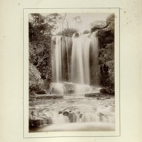 Waterfall. National Park