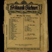 16 charakteristische Stücke : für zwei Flöte und Klavier : Op. 65 - Heft 2