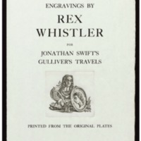 Engravings by Rex Whistler for Jonathan Swift's Gulliver's travels : printed from the original plates