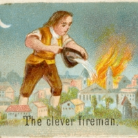 The clever fireman.