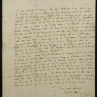 [Letter] 1713 April 30, London [to] William Diaper, Hampshire