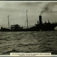 "The pirates' first victim: the Norwegian ship ""Belridge"" torpedoed in the Channel"